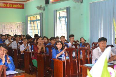 Đại hội Đoàn TNCS Hồ Chí Minh nhiệm kỳ 2017-2018