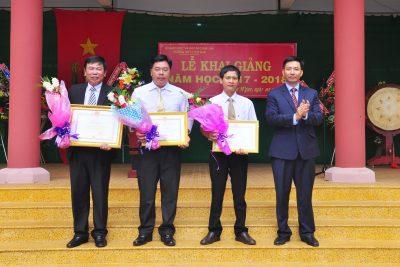 Trường THPT Cư M'gar, tưng bừng Lễ Khai giảng năm học 2017-2018